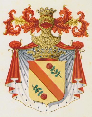 Stemma gentilizio del Principe Gaspare San Martino Pardo