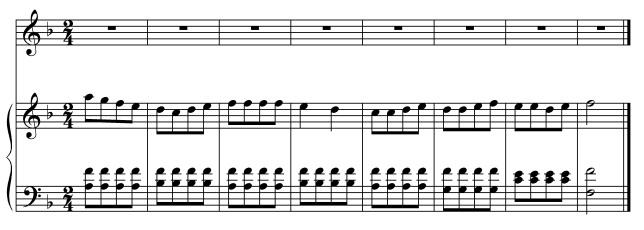 Melodia su Mozart (Monica)