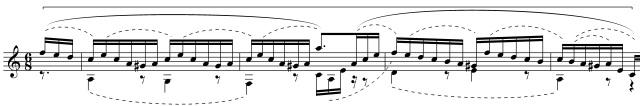 BWV 997e inventio