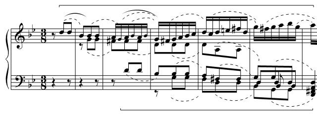 BWV808a inventio - exordium c.g.
