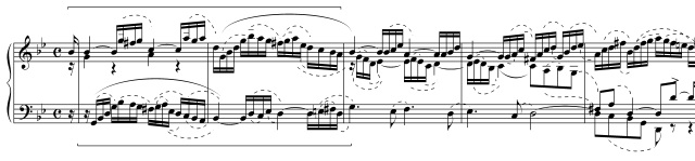 BWV808b inventio