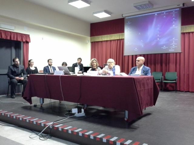 Convegno Messina - Rattalino e i 5 allievi relatori