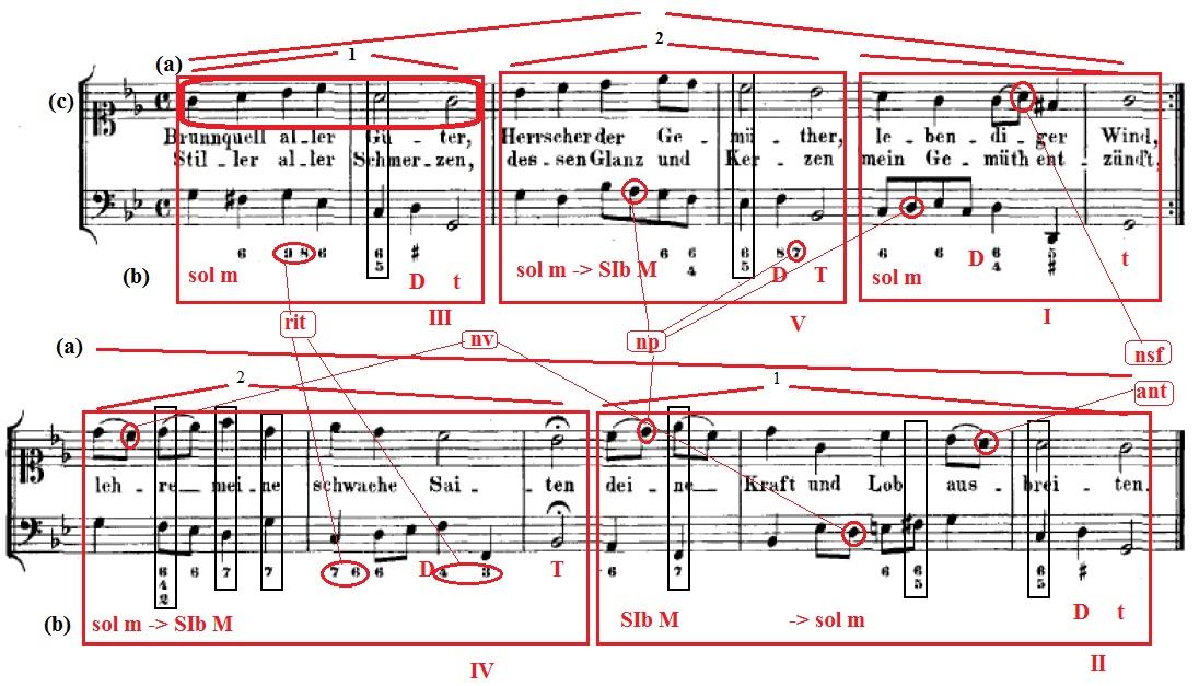 Analisi Canto sacro n. 7