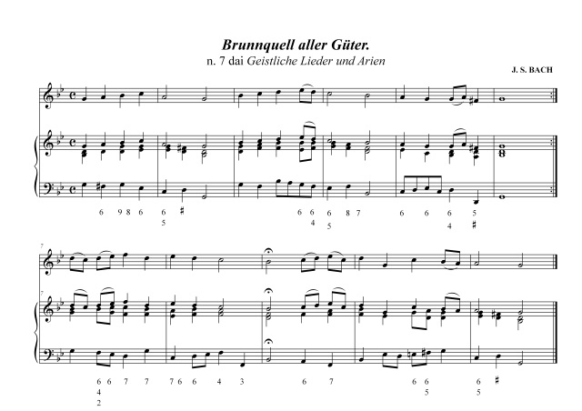 bc - Bach n. 7 Canti sacri - III fase (triadi e settime)